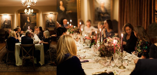 Wedding planners candle lit dinner   Kelly Chandler Consulting