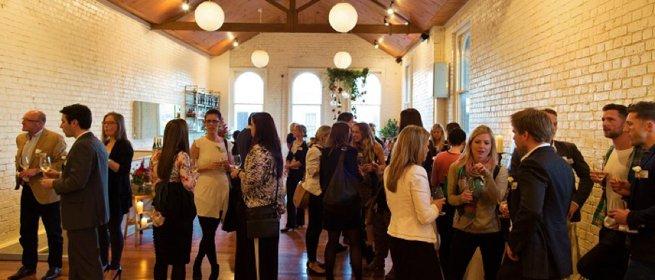 Indoor standing social gathering   Kelly Chandler