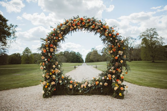 Wedding flower arch   Kelly Chandler Consulting