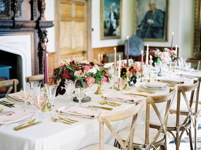 Wedding Breakfast Table Setting | Kelly Chandler Consulting