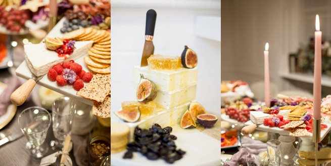 Luxury sharing table of cold meat and cheese | Kelly Chandler Consulting