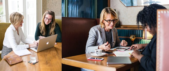 Ladies at a one to one meeting | Kelly Chandler Consulting