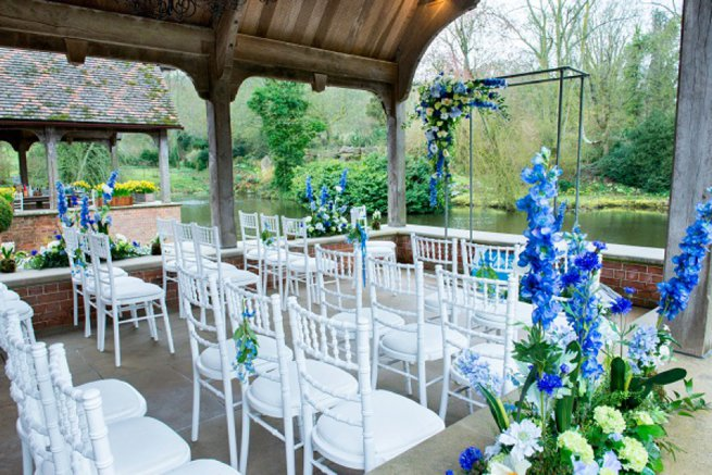 Waddesdon Manor Wedding Venue Showcase Outdoor Ceremony setup | Kelly Chandler Consulting