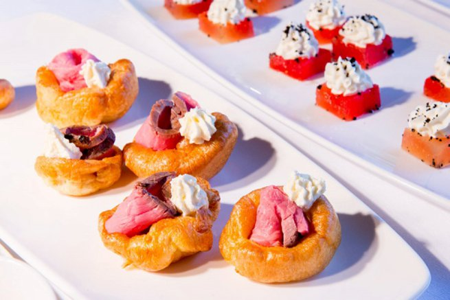 Waddesdon Manor Wedding Venue Showcase Canapes | Kelly Chandler Consulting