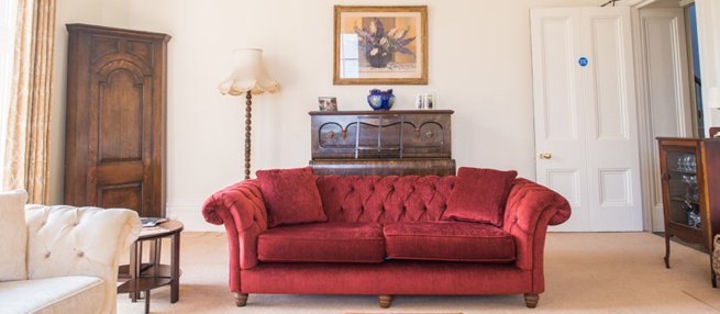 Hallsannery House Sitting Room   Kelly Chandler Consulting