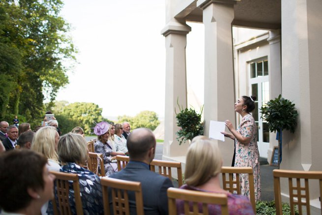 Ceremony at Hallsannery House   Kelly Chandler Consulting