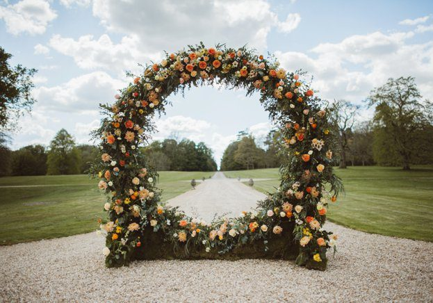 Wedding flower arch | Kelly Chandler Consulting