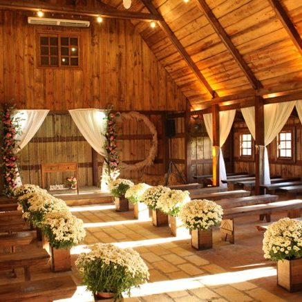 Wooden farm shed style chapel | Kelly Chandler Consulting