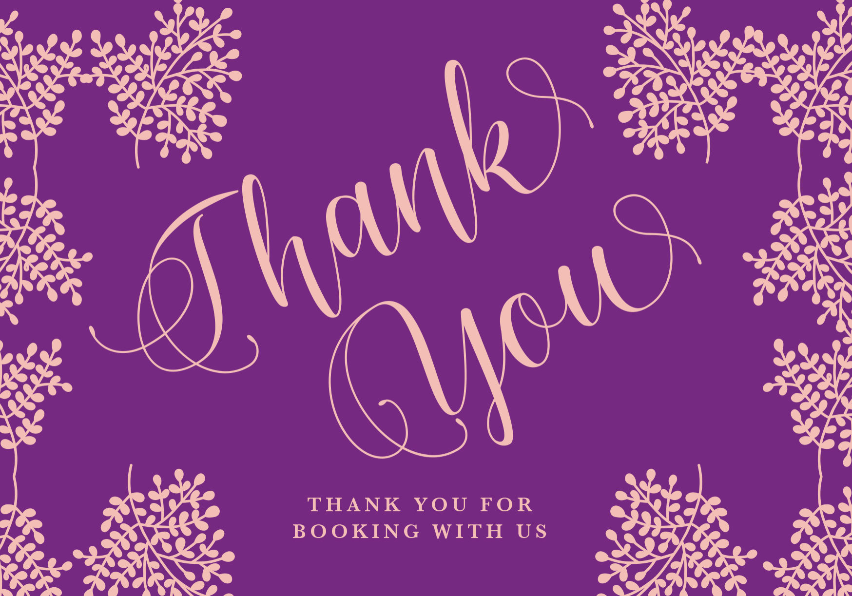 Wedding thank you and bride getting ready card | Kelly Chandler Consulting